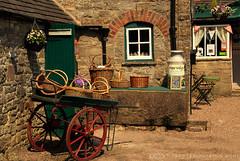 The Ice cream Parlour! (Jay Bees Pics) Tags: derbyshire peakdistrict icecream baskets handcart 2016 icecreamparlour milkchurn tissington magicunicornverybest hopevalleyicecream