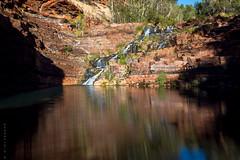 Fortescue Falls (REDbiv) Tags: longexposure nature landscape westernaustralia karijini pilbara dalesgorge 10stopfilter dalespool fortetscuefalls