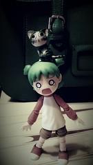 """Oh noooo, school beginns..."" (Maude80) Tags: school anime girl cat tears action chi figure cry koiwai yotsuba"