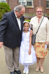 Violet With Grandma & Grandpa (Joe Shlabotnik) Tags: violet nancy firstcommunion verne 2016 afsdxnikkor35mmf18g may2016