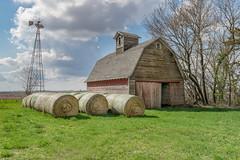 Career Guidance (henryhintermeister) Tags: summer minnesota clouds rural outdoors farming barns oldbarns nostalgia farms pastoral countryliving worthington