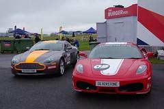 Aston Martin Vantage and a Ferrari 430 (Dave Hamster) Tags: ferrari racing silverstone endurance motorracing fia aston astonmartin motorsport vantage f430 autosport 430 ferrarif430 ferrari430 wec enduranceracing astonmartinvantage worldendurancechampionship 6hoursofsilverstone worldenduranceseries