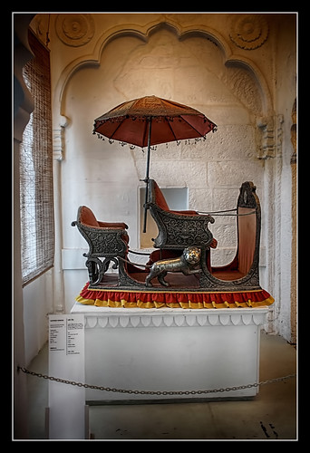 Jodhpur IND - Mehrangarh Fort - Hathi Howdah 01