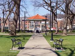 Washington Park (Travis Estell) Tags: ohio cincinnati parkbench bandstand washingtonpark overtherhine urbanpark cincinnatiparks cincyparks thisisotr washingtonparkotr