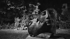 Pompei by night, 2016 (gigirec) Tags: blackandwhite sculpture white black art night blackwhite nikon sigma bianco notte biancoenero pompei nikonlenses
