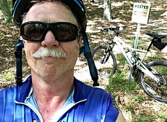 Rest stop (Eric.Ray) Tags: bicycle project photo cellphone days 365 selfie