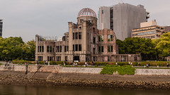 Hiroshima Prefectural Industrial Promotion Hall (TheSpaceWalker) Tags: water japan photography photo nikon wwii pic hiroshima 1750 tamron atomicbomb abomb abombdome d300 genbakudome hiroshimaprefecturalindustrialpromotionhall thespacewalker
