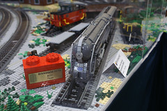 BW_16_Penn-Tex_066 (SavaTheAggie) Tags: pennlug tbrr pentex texas brick railroad train trains layout steam engine locomotive locomotives display yard city