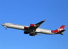 G-VBLU Airbus A340-641 Virgin Atlantic Airways (Keith B Pics) Tags: heathrow virgin airbus lhr a340 soulsister egll virginatlanticairways gvblu
