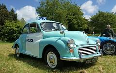 MORRIS MINOR POLICE CAR. (suki5150) Tags: england classic ford austin buick jaguar morrisminor audi landrover classiccars carshow alvis rootes claremontfarmcars fordcorsair1966