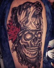 """Shaman Skull By Marti • <a style=""""font-size:0.8em;"""" href=""""http://www.flickr.com/photos/120134406@N08/27343893214/"""" target=""""_blank"""">View on Flickr</a>"""