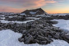 'Frozen Lava' - Leirhnjkur, Iceland (Kristofer Williams) Tags: winter snow ice sunrise landscape dawn lava frozen iceland frost crater volcanic geothermal lavafield krafla leirhnjukur
