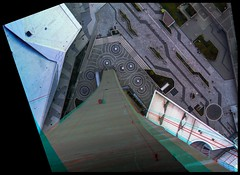 Vertigo on CN Tower 3-D ::: HDR/Raw Anaglyph Stereoscopy (Stereotron) Tags: toronto ontario canada window architecture modern america radio canon eos stereoscopic stereophoto stereophotography 3d downtown raw cntower control contemporary north vertigo kitlens twin anaglyph aerial stereo topdown plexiglas stereoview to remote spatial 1855mm hdr province brutalism redgreen tdot 3dglasses brutalist hdri transmitter stereoscopy synch anaglyphic optimized in acrophobia threedimensional hogtown stereo3d thequeencity cr2 stereophotograph anabuilder thebigsmoke synchron redcyan 3rddimension 3dimage tonemapping 3dphoto 550d torontonian fancyframe stereophotomaker stereowindow 3dstereo 3dpicture 3dframe anaglyph3d yongnuo floatingwindow stereotron spatialframe