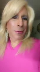 More PINK  (bevhills2) Tags: blonde blond pink tranny trannydress trans pretty