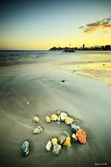 Colour rocks (jaume vaello) Tags: mar rocks alicante benidorm marinas sigma1020 manfroto leefilters playasdealicante kenkond400 nikond5100