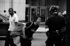 (-- brian cameron --) Tags: blackandwhite bw toronto blackwhite cops streetphotography police law drama finest fuzz popo 550d enforcementtorontos