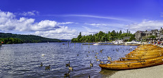 Windermere, Lake District, United Kingdom (S.A.W. Pixels) Tags: city uk blue england people panorama lake clouds contrast canon dark landscape boats outside freedom coast landscapes photo amazing interesting europe exposure flickr cityscape peace artistic unitedkingdom outdoor lakedistrict picture culture cityscapes dramatic bluesky excellent impressive windermere exciting panaroma panaromic observing greatphotographers flickrsbest flickrbest flickraward ithinkthisisart canon7d syedaliwarda