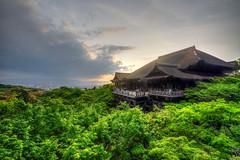 Kiyomizu-dera, Kyoto, Japan (ap0013) Tags: kiyomizudera kiyomizu dera kyoto japan kyotojapan buddhist temple sunset buddhisttemple   kytoshi kytofu