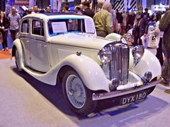 165 SS Jaguar 1.5 ltr Coachbuilt Saloon (1937) (robertknight16) Tags: 1930s ss muppets british jaguar coachbuilt nec2013 dyx180