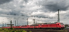 0510_2016_06_18_Koblenz_Lokparade_DB_Lokzug_145_071_mit_185_186_185_371_185_285_145_035_151_155_151_073_145_026 (ruhrpott.sprinter) Tags: railroad ice train germany logo deutschland bonn diesel outdoor natur eisenbahn rail zug blumen kln sandwich db cargo 101 nrw passenger fret rhein gelsenkirchen ruhrgebiet freight e14 locomotives cfl limburg mosel 139 185 151 152 rheinlandpfalz lokomotive 145 482 vias sprinter ruhrpott 294 e19 648 643 gter 0428 tdr 0037 dispo prellbock 6139 6185 mrce akiem reisezug 0460 dispolok 4482 sbbc rb23 ellok koblenzltzel es64f4 transregio vtgd