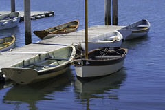 At The Small Boat Dock (joegeraci364) Tags: ocean travel sea summer vacation color art tourism beach nature season print relax fun happy coast boat photo dock marine ship quiet peace image scenic vessel row calm shore maritime boating sail oar destination leisure serene recreation sailor nautical float skiff dory dingy tether