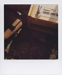 I specialise in revenge (Stasi 2) (ale2000) Tags: brown analog carpet office chair buttons telephone 600 instant analogue ufficio paranoia marrone stasi impossible moquette i1 instantphotography poltrona analogico bottoni stasimuseum stasizentrale