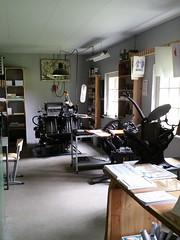 Grafische werkplaats (zaqina) Tags: ellert brammert openluchtmuseum drukpers grafische werkplaats schoonoord