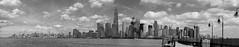 Manahttan Seen From Liberty State Park (KlausGadeberg) Tags: newyorkcity newyork skyline architecture wtc freedomtower