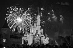 Cinderella's Castle & Fireworks - Disney's Magic Kingdom B&W (J.L. Ramsaur Photography) Tags: jlrphotography nikond7200 nikon d7200 photography photo lakebuenavistafl centralflorida orangecounty florida 2016 engineerswithcameras magickingdom disneysmagickingdom photographyforgod thesouth southernphotography screamofthephotographer ibeauty jlramsaurphotography photograph pic waltdisneyworld disney disneyworld cinderellascastle waltdisney happiestplaceonearth wheredreamscometrue magical tennesseephotographer imagineering disneycharacter waltdisneyworldresort castle fireworks bw blackwhite blackandwhite nik niksilverefexpro2 silverefex engineeringasart ofandbyengineers engineeringisart engineering architecture nighttime nightphotography afterdark atnight explosion longexposure disneyfireworks disneyafterdark