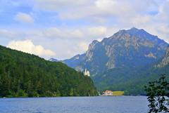Alpsee - Schwangau (ivlys) Tags: germany allemagne deutschland bayern schwangau alpsee see lake neuschwanstein schloss castle berge mountains landschaft landscape nature ivlys