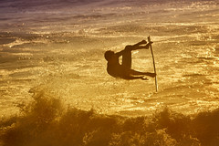 skimboard.pt (Jose Antonio Pascoalinho) Tags: portugal surf sports water waves sea ocean atlanticocean people sunset silhouette action speed skimboard outdoor zedith