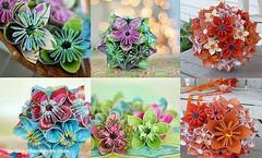 Xp qu cu giy phong cch Origami tng bn thn (nhungcandy96) Tags: lm qu handmade gift