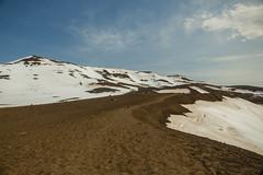 Krafla Viti Crater 12 (sarahmonious) Tags: kraflaviticrater kraftla viti myvatn kraftlavolcano volcanocrater crater hverir snow route1iceland route1 ringroad iceland iceland2016 icelanding2016 traveling