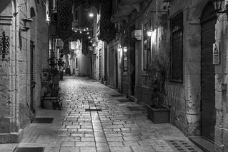 Street in Birgu, Malta (explored 12 August 2016)