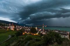 Thunderstorm (He_Da) Tags: zug zugersee lakezug switzerland schweiz wolken clouds cloudsstormssunsetssunrises cloudy storm sturm sky himmel gewitter thunderstorm