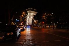 Arc de Triomphe at night, Paris (das21) Tags: paris france arcdetriomphe