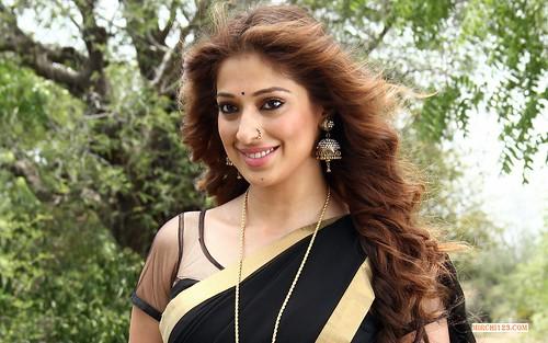 Lakshmi Rai Hot Saree Images