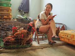 chicken texter copy (anwoody) Tags: approved xingping china guano people streetlife