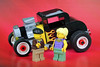 Lesgo for a Joyride with my New Old Car! (Lesgo LEGO Foto!) Tags: lego minifig minifigs minifigure minifigures collectible collectable legophotography omg toy toys legography fun love cute coolminifig collectibleminifigures collectableminifigure ford modelahotrod modela hotrod