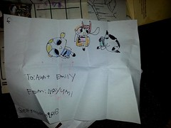SQEEEEEEEEEEEEEEEEEeeeeeeeeeee!!!!!!!!! I LOVE IT!!!!! #CutestDrawingEver (talulahgosh) Tags: cutestdrawingever cute powerpuff ppg drawing artist blossom bubbles buttercup mayumi mail color draw cartoon