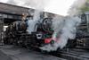 Simmering Standard (4486Merlin) Tags: 78018 brstd2mt260 england europe exbr greatcentralrailway heritagerailways mpd midlands railways steam transport unitedkingdom loughborough leicestershire gbr