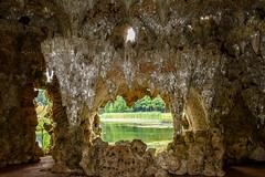 Crystal Grotto (CAscotPhotography) Tags: cascotphotography grotto cave flash crystal pond lake water painshillpark surrey nikon d7100