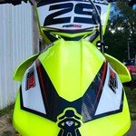 """Close up shot of FAMmx Design Suzuki Carbon Graphics for Cory Snow's RMZ450. <a style=""""margin-left:10px; font-size:0.8em;"""" href=""""http://www.flickr.com/photos/99185451@N05/29801146566/"""" target=""""_blank"""">@flickr</a>"""