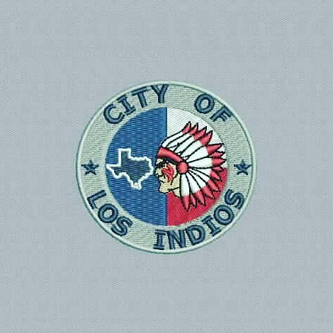 Digitized #cityoflosindios - true flat rate embroidery digitizing - prices start at $5.99 per design. Email your artwork in pdf, jpg or png format to indiandigitizer@gmail.com. http://ift.tt/1LxKtC5 #FlatRateEmbroideryDigitizing #Indiandigitizer #embroide