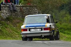 Rallye Gernika-Lumo Seat 124 (rubenmorandeira) Tags: rallye seat seat124 car coche lumix panasonic sports gernika clasiccars cochesclsicos autofocus