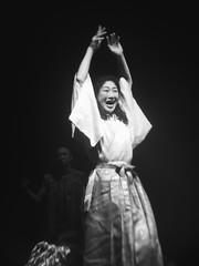 Women of Troy - played by Tadashi Suzuki's theatre.Person Theather Japanese  Japanese Culture Faces Of EyeEm Bw_collection Portrait Front View Monochrome Photography (zurriuss) Tags: person theather japanese japaneseculture facesofeyeem bwcollection portrait frontview monochromephotography
