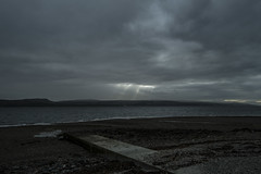 Rays of Light over the Clyde - Oct 2016 (GOR44Photographic@Gmail.com) Tags: coast scotland west cowal argyll bute fujifilm xpro1 xf18mmf2 cloud water firthofclyde gor44 beach