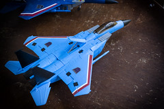 iGear Thundercracker (Jon..Hall) Tags: masterpiece transformers seeker seekers thundercracker hasbro igear jet altmode nikon nikond7100 d7100 toy toys toyphotography