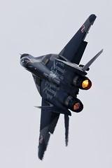 Mikoyan-Gurevich MiG-29A - 14 (NickJ 1972) Tags: raf fairford riat royalinternationalairtattoo airshow 2016 aviation mikoyan gurevich mig29 fulcrum 108