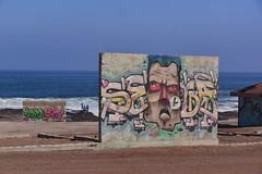 Redeye Flight (Ctuna8162) Tags: playa beach antofagasta grafitti painters art